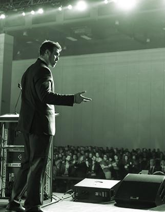 TrinityFix CEO speaking to 2,500 professionals in Austin, Texas